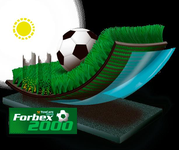 Grama sintética Forbex 2000